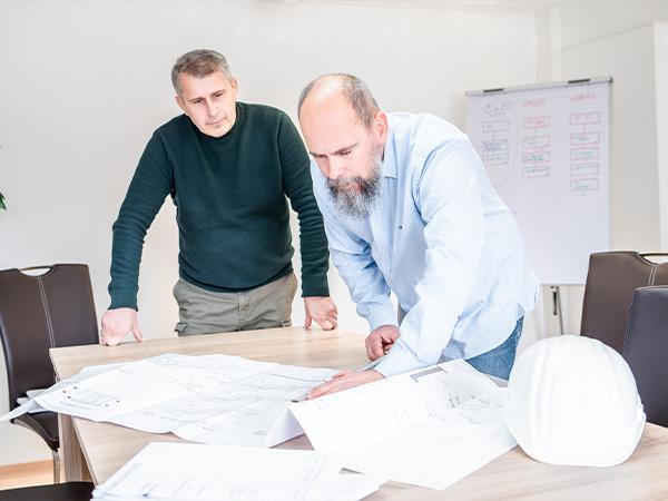 Bauunternehmen Beratung Planung